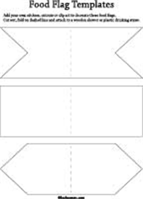 design your own flag template print and cut mini flags toothpic flags cupcake toppers