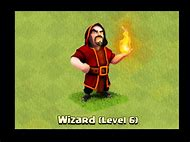 Clash of Clans Wizard Tower Level 6