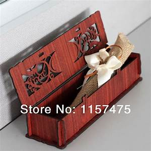 free shipping hi2055 hot sale luxurious wedding With wedding invitation box for sale