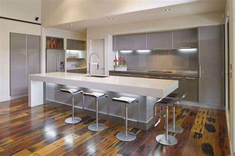 meuble bar separation cuisine americaine cocinas modernas