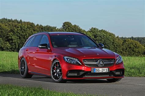 Cars Tuning Music: Mercedes C63 AMG Estate Wimmer RST