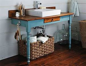 diy bathroom vanity 12 bathroom rehabs bob vila With how to make a bathroom vanity from a dresser