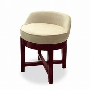 Swivel, Upholstered, Vanity, Chair
