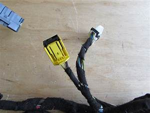 Bmw Door Wiring Harness  Front Right 61116918761 E65 E66