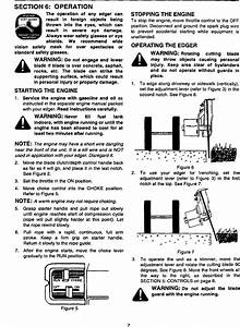 Mtd 588 User Manual Edger Manuals And Guides L9910232