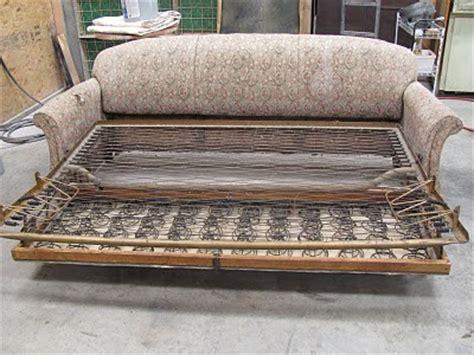 Repair Sofa Frame by Nelson Furniture Restoration Antique Sleeper Sofa