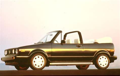 used 1991 volkswagen cabriolet pricing for sale edmunds