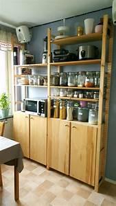 Ikea Regale Küche : ikea ivar meets pantry lm umzug in 2019 speisekammer regale ivar regal und k chenumbau ~ Watch28wear.com Haus und Dekorationen