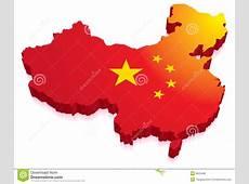 China Map Flag stock illustration Illustration of artwork