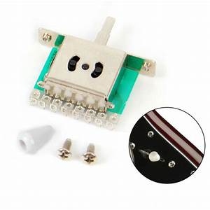 Guitar Pickup Selector Toggle Switch 5 Way For Fender Tele