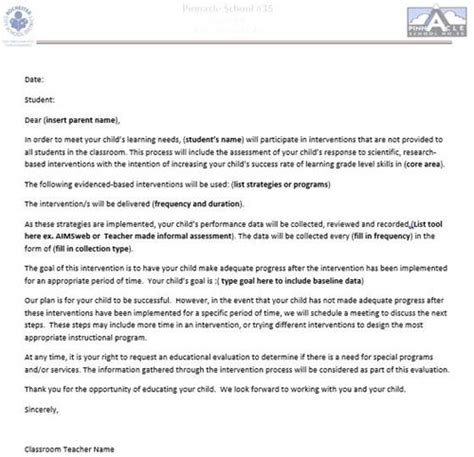 response  intervention rti documents