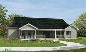 ranch house plans with front porch ranch house plans with With ranch home designs with porches