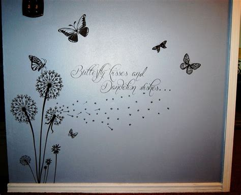 butterfly kisses  dandelion wishes vinyl projects