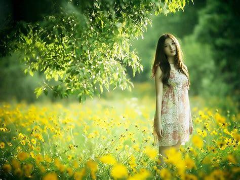 Permalink to Nature Wallpaper Girl