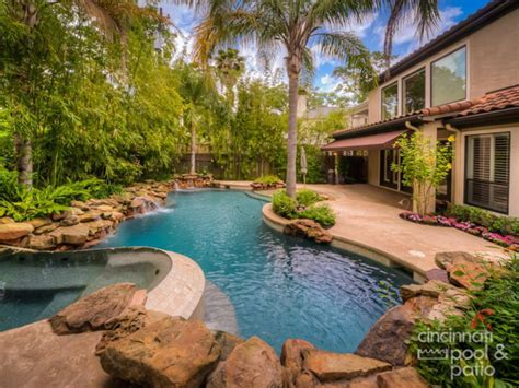 Backyard Oasis Designs by Using In Ground Pools To Create A Backyard Oasis