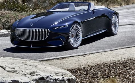 Vision Mercedes Maybach 6 Cabriolet Unveiled In California