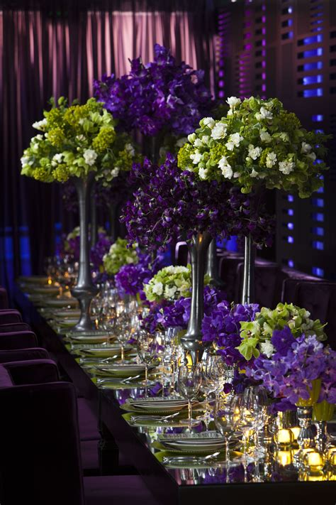 Grace Ormonde Wedding Style Purple And Green Opulent