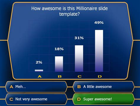 who wants to be a millionaire template who wants to be a millionaire blank template newhairstylesformen2014