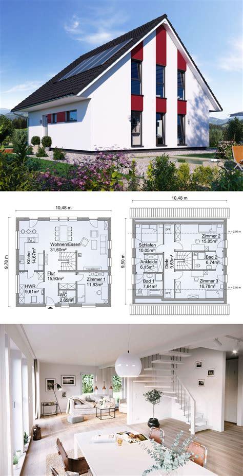 Neubau Einfamilienhaus Innen by Einfamilienhaus Neubau Modern Mit Satteldach Architektur