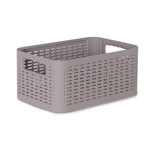 boite plastique cuisine boîte de rangement nomade en plastique gris gris 4