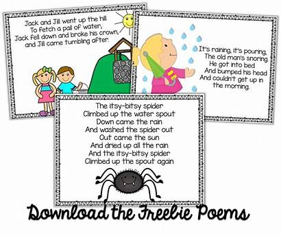 Poems Kindergarten Nursery Poetry Rhymes Poem Preschool
