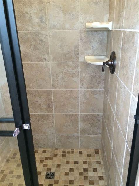 master shower tile is strafford dorian gray tile