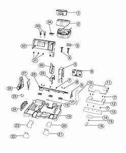 Dodge Journey Shield  Seat Belt Retractor  Trim   Leather