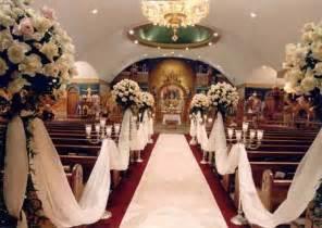 decoration for wedding church wedding decorations