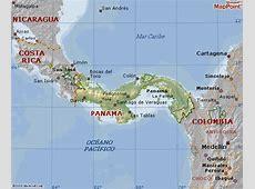 THE PRINCESS TATIS Mapas de Panamá y Colombia