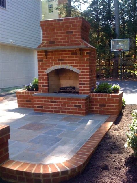outdoor brick fireplace ideas outdoor brick fireplace designs woodworking projects plans