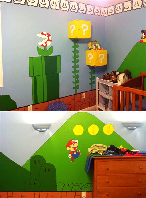 Kids Video Gamethemed Rooms  Design Dazzle
