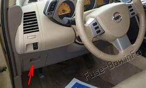 Fuse Box Diagram  U0026gt  Nissan Murano  Z50  2003
