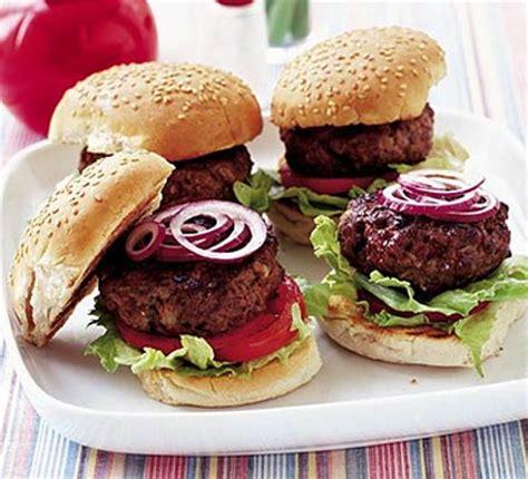 beef burgers learn   recipe bbc good food