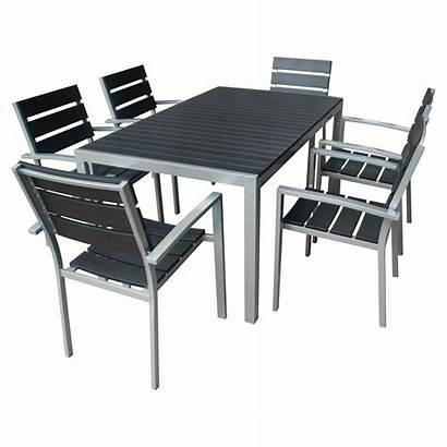 Patio Dining Metal Outdoor Modern Sets Furniture