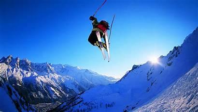 Skiing Ski Snow Winter Mountains Wallpapers