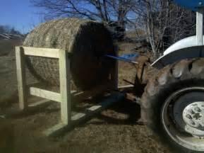 Round Bale Goat Hay Feeder Plans