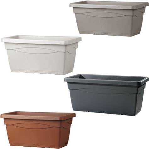 vasi colorati da esterno cassettone basic cassetta vaso vasi vasca fiori resina
