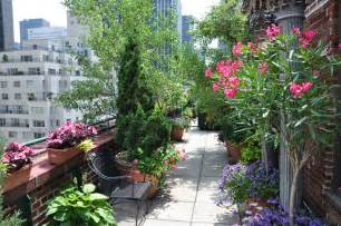 rooftop gardens terraces new york city interior