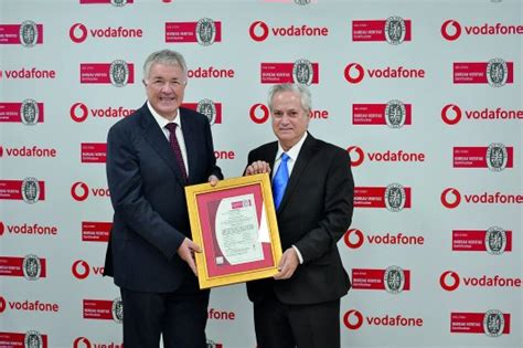 bureau veritas qatar vodafone qatar receives iso re certification the