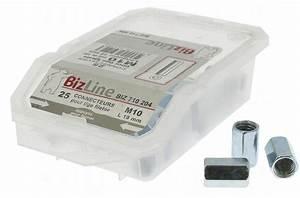 Tige Filetée M10 : manchons pour tige filet e m10 boite de 25 18 88 ~ Edinachiropracticcenter.com Idées de Décoration