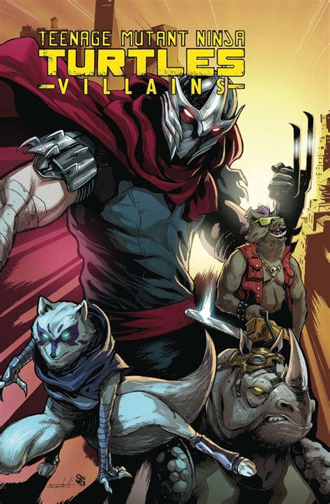 teenage mutant ninja turtles villains collection idw publishing
