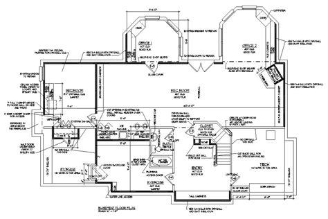 Basement Blueprint Reno Ideas Room Renovation Floor Plans