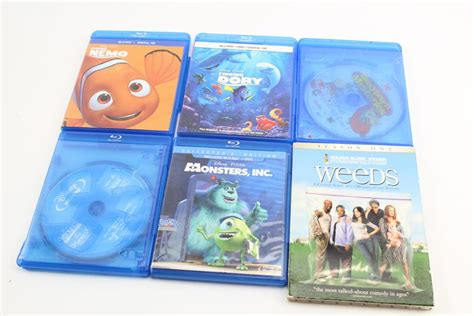 Weeds, Finding Nemo, Finding Dory And