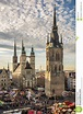 The Five Towers Of Halle (Saale) Editorial Stock Photo ...