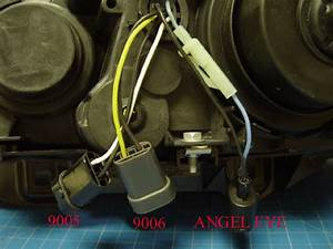How To Connect Wire To Angel Eyes System