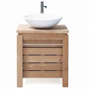 Meuble Vasque Pas Cher : meuble vasque a poser pas cher ~ Teatrodelosmanantiales.com Idées de Décoration