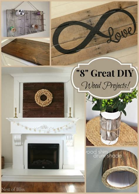 """""""8"""" Great Diy Wood Projects"""