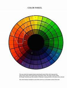 Paint Color Wheel Casual Cottage