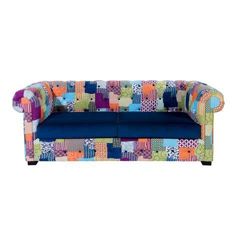 canapé coloré canapé patchwork design coloré chester alc zendart design
