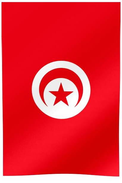 Flag Tunisia Sfax Vertical Tunis Flags Sousse